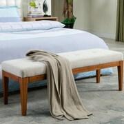 Porthos Home AnneMarie Upholstered Bedroom Bench