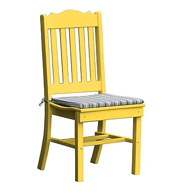 Radionic Hi Tech Oxford Dining Side Chair; Yellow