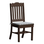 Radionic Hi Tech Oxford Dining Side Chair; Brown