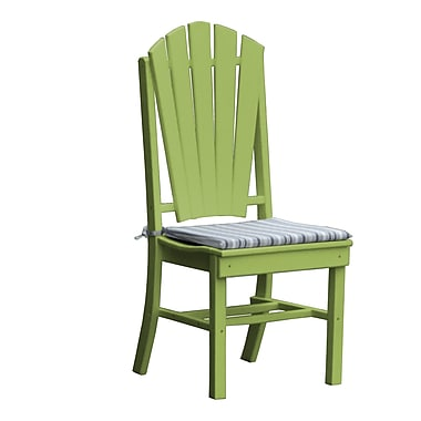 Radionic Hi Tech Newport Dining Side Chair; Green