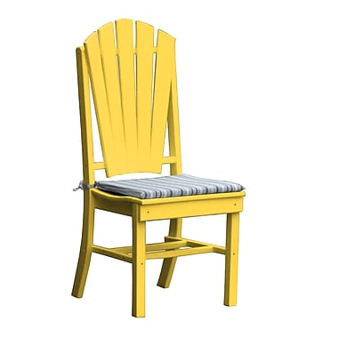 Radionic Hi Tech Newport Dining Side Chair; Yellow