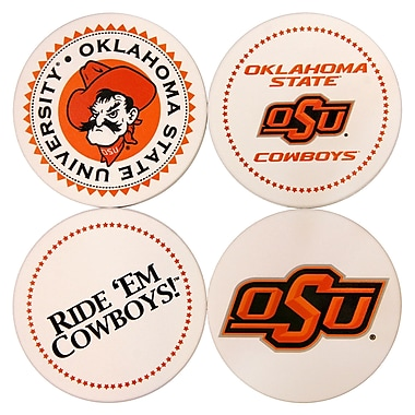 Great Finds Round Coaster (Set of 4); Oklahoma State University