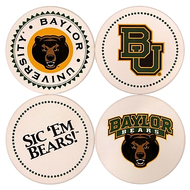 Great Finds Round Coaster (Set of 4); Baylor University