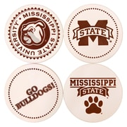 Great Finds Round Coaster (Set of 4); Mississippi State University