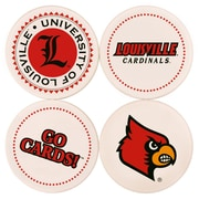 Great Finds Round Coaster (Set of 4); University of Louisville