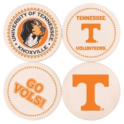 Great Finds Round Coaster (Set of 4); University of Tennessee