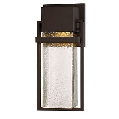 Designers Fountain Fairbanks 1-Light LED Wall Sconce; 15'' H x 6.5'' W x 4.75'' D