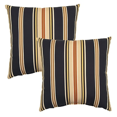 Winston Porter Sachiko Outdoor Throw Pillow (Set of 2)