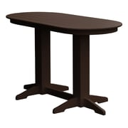 Radionic Hi Tech Rochester Bar Table; Brown