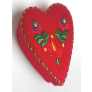 The Sandor Collection Heart Fabric Box