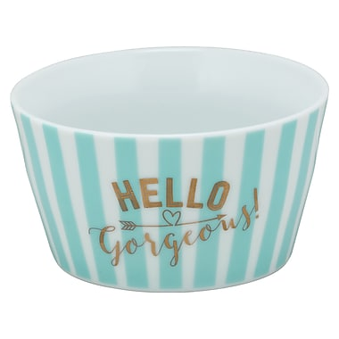 Ten Strawberry Street The Goodies 18 oz. Hello Gorgeous Cereal Bowl