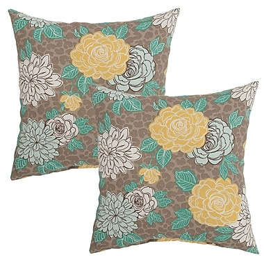 August Grove Burnsdale Outdoor Throw Pillow (Set of 2)