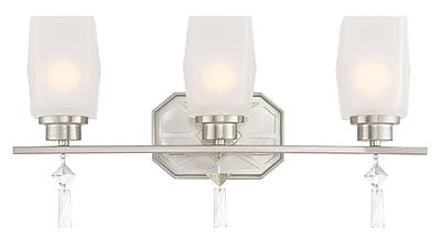 Designers Fountain Brentwood 3-Light Vanity Light
