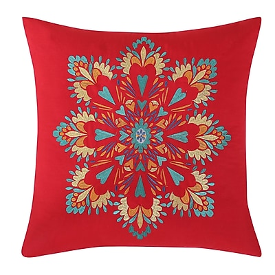 Fiesta Medallion Decorative Throw Pillow