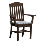 Radionic Hi Tech Rochester Dining Arm Chair; Brown
