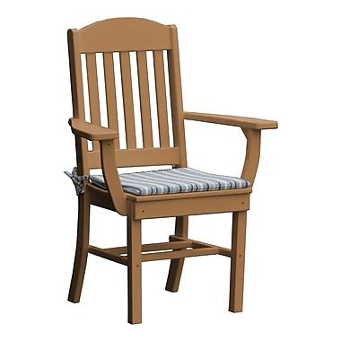 Radionic Hi Tech Rochester Dining Arm Chair; Cedar