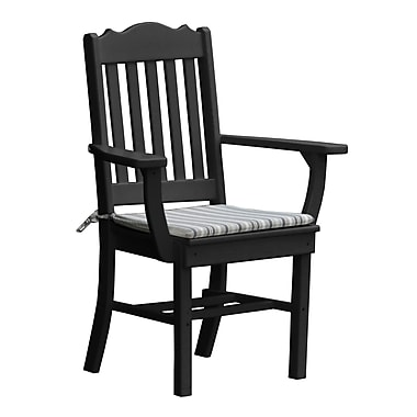 Radionic Hi Tech Oxford Dining Arm Chair; Black