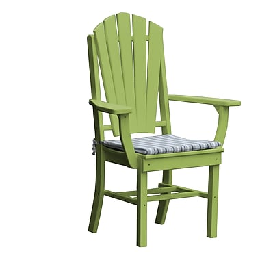 Radionic Hi Tech Newport Dining Arm Chair; Green
