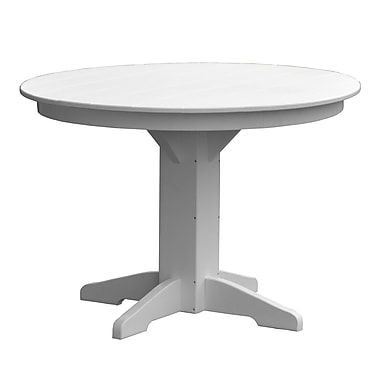 Radionic Hi Tech Newport Dining Table; White