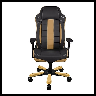 DX Racer Classic Series Professional Grade Gaming & Computer Chair, Black & Tan