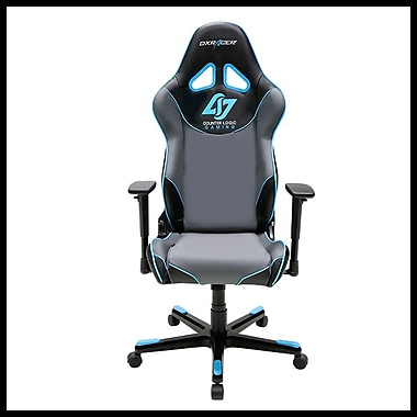 DX Racer Racing Series Professional Grade Gaming & Computer Chair, Black & Blue
