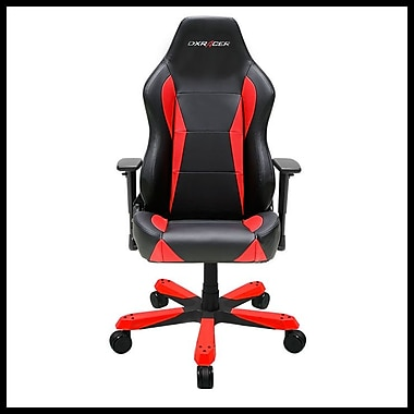 DX Racer Wide Series Professional Grade Gaming & Computer Chair, Black & Red