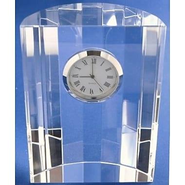 Elegance Optical Crystal Dome Clock (16023)
