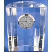 Elegance Optical Crystal Dome Clock (16023)
