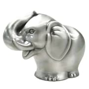 Elegance Elephant Money Bank, Pewter-Plated (80889)