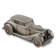 Elegance Antique Car Money Bank, Pewter-Plated (88604)