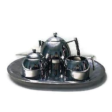 Elegance 4-Piece Tea Set, Stainless Steel (72918)