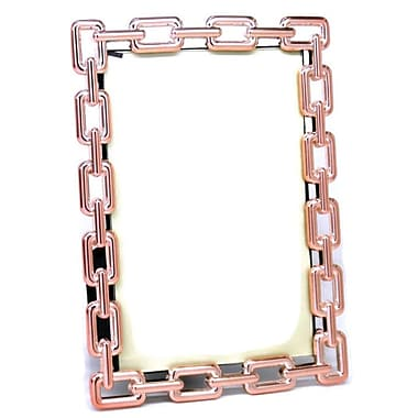 Elegance Copper Link Photo Frame, 4