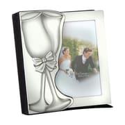 Elegance – Album photo de mariage, 48 photos, 4 x 6 po, argent (61318)