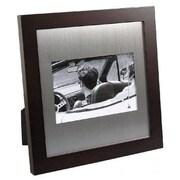 Elegance – Cadre photo en bois et en aluminium, 4 x 6 po (61824)