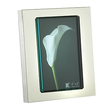 Elegance Glass Front Photo Frame, 4