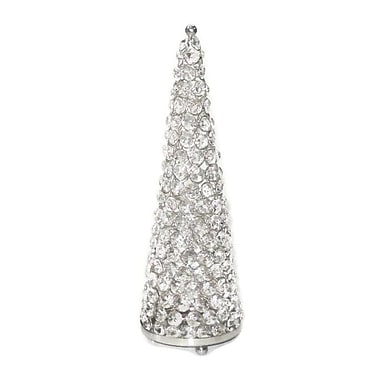 Elegance – Porte-bougie étincelant en forme de sapin, grand (72863)