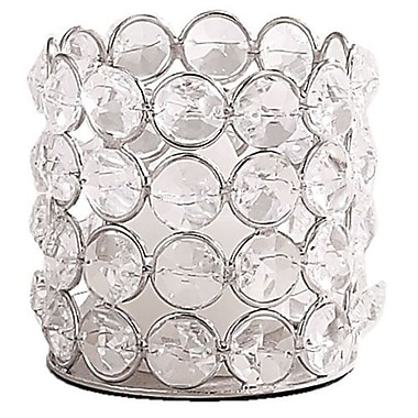 Elegance Sparkle Round Tealight Holder (72876)