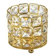 Elegance – Porte-bougie carré en cristal (72921)