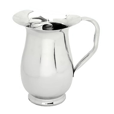 Elegance Water Pitcher with Iceguard, Stainless Steel (72611)