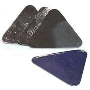 Elegance – Ensemble de sous-verres martelés triangulaires, 4/paquet (72642)