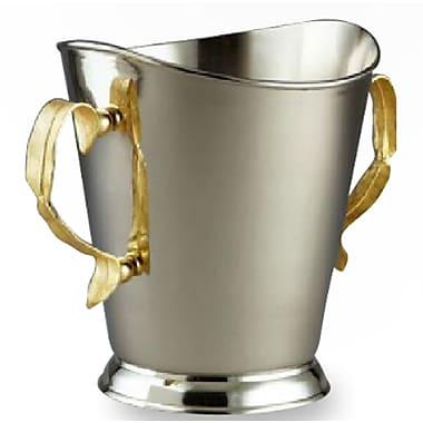 Elegance – Seau à champagne, plumes dorées (72056)