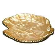 Elegance Multi Leaf Tray, Gold-Plated Brass