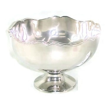 Elegance Chippendale Bowl, Nickel-Plated (72079)