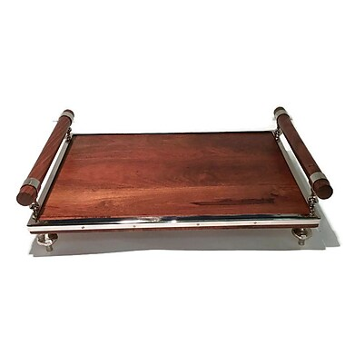 Elegance Wooden Rectangular Tray (72151)