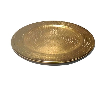 Elegance Charger Plate, Gold (79085)
