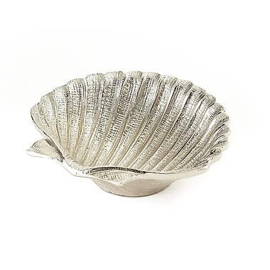 Elegance Shell Dish, Nickel-Plated, 5.5