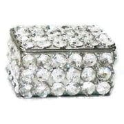 Elegance Sparkle Crystal Jewelry Box (72874)