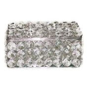 Elegance Sparkle Crystal Rectangular Jewelry Box (72894)