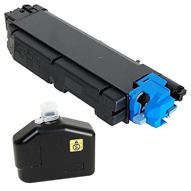 fuzion - Cartouche de toner cyan neuve, compatible Kyocera TK5142C, haut rendement (TK5142C)
