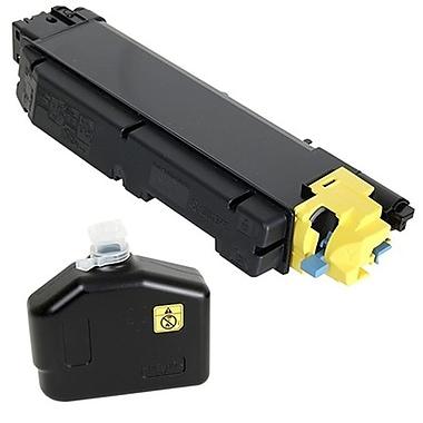 fuzion - Cartouche de toner jaune neuve, compatible Kyocera TK5142Y haut rendement TK5142Y